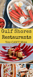 Whether vacationing on the Gulf of Mexico, driving thru, or looking for great local fare, taste the BEST in Sea to Table food at these 5 Gulf Shores Restaurants in Alabama