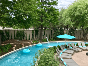 Hilton Anatole Pool Lazy River