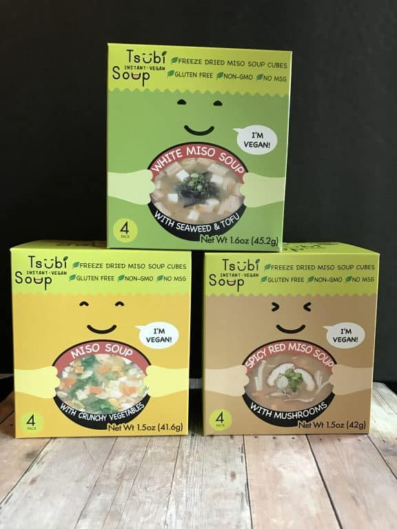 Tsubi Miso Soup - Looking for Healthy Dehydrated Camping Food? Here are a few foods that are great for hiking on the trail or camping.