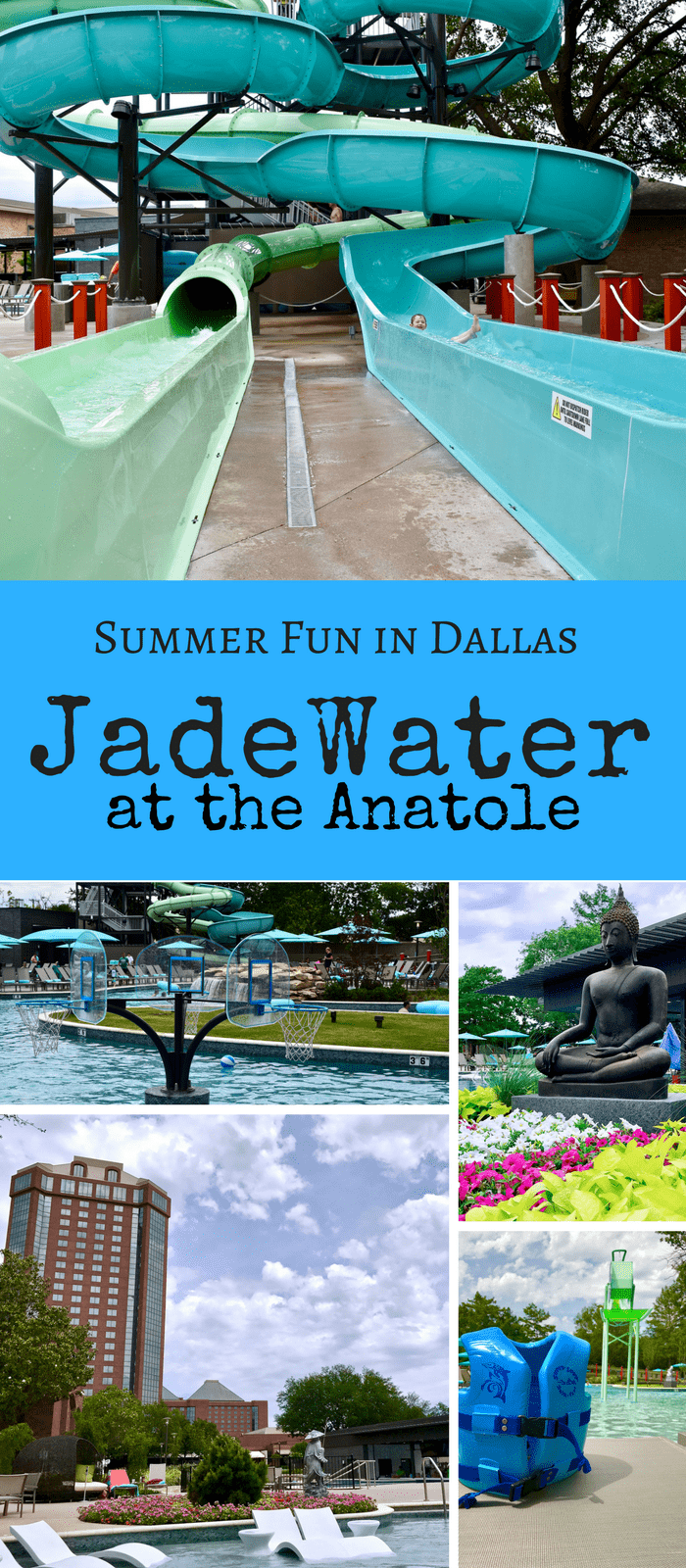 Jade Water Resort Pool Dallas at the Hilton Anatole