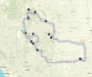 Little Family Adventure Summer Road Trip - 4 weeks, 6 States, endless fun