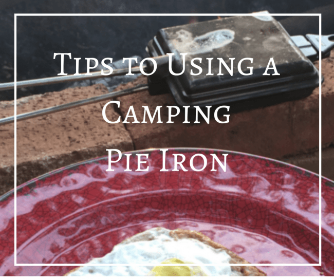 Using a Camping Pie Iron is a great way to customize camp cooking. Here are some camping cooking tips for use with a pie iron