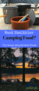 Looking for Healthy Dehydrated Camping Food? Here are a few foods that are great for hiking on the trail or camping.