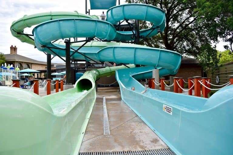 Splash Into Jadewaters The Hilton Anatole Pool Complex