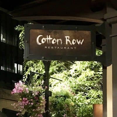 Cotton Row Restaurant is a MUST when in  Huntsville, Alabama