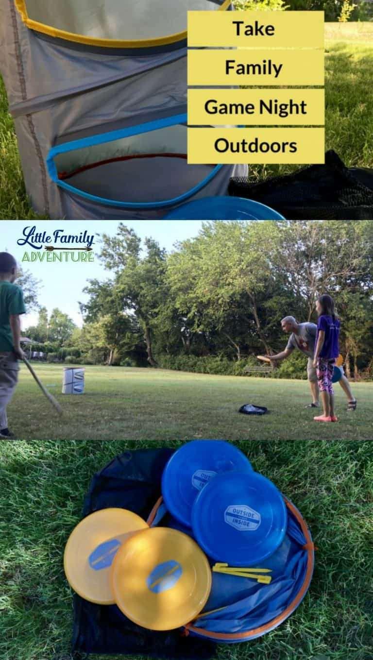 Take Family Game Night Outdoors