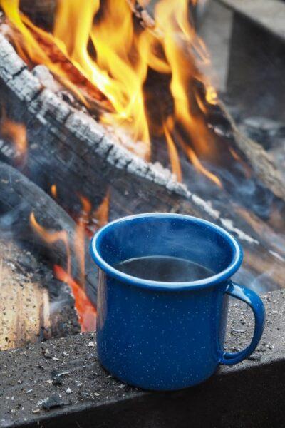 coffee mug campfire