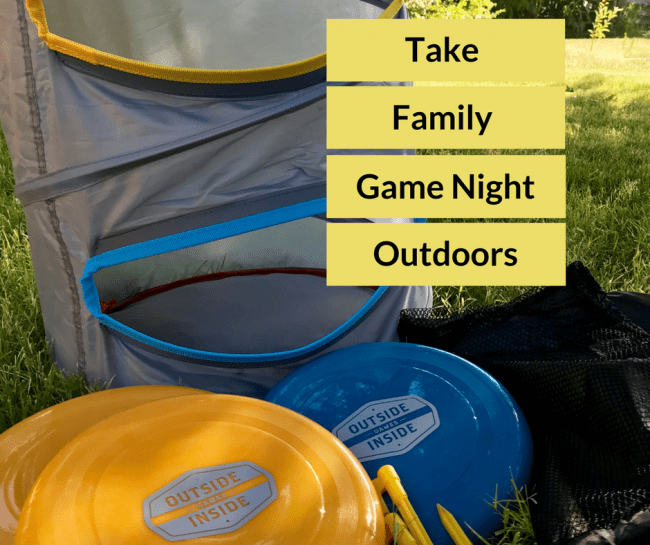 Take Family Game Night Outdoors with the Freestyle Barrel Toss - Outside Inside Gifts has travel and adventure gifts that help families come together and have fun again.