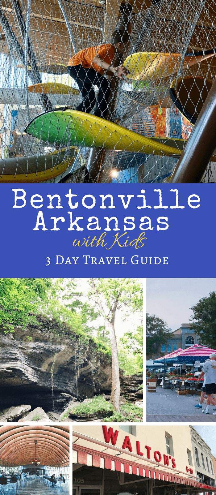 Looking for things to do in Bentonville, AR and Rogers, AR? This 3 day family friendly itinerary is filled with great sites, restaurants, and attractions. #visitbentonville #NWA #NWarkansas #arkansas