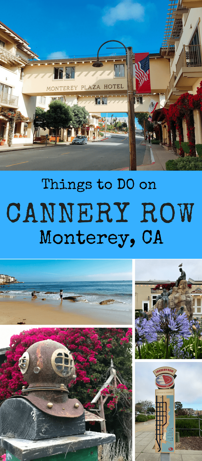 Don't Miss these sites and attractions in Cannery Row, Monterey, CA. Find MUST see sites, tips, and ideas for your next family trip to the area.