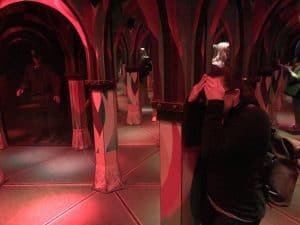 Finding your way in the Mirror Maze is just one of the fun things to do in Cannery Row and Monterey CA