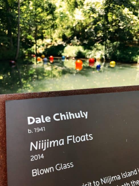Dale Chihuly Glasswork - Crystal Bridges