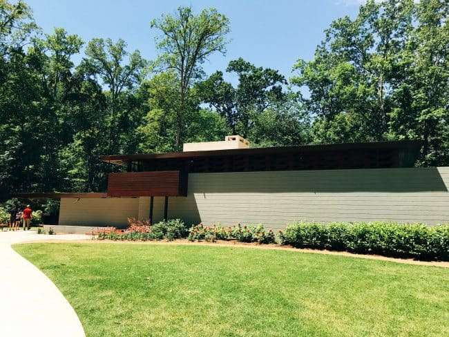 Frank Lloyd Wright House at the Crystal Bridges Museum of American Art