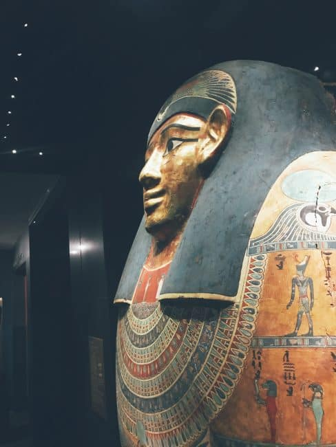 Egyptian Exhibit at the Nelson-Atkins Museum of Art in KCMO