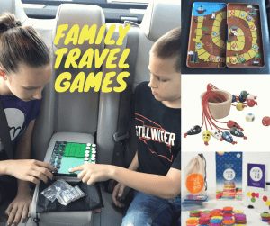 Family travel games