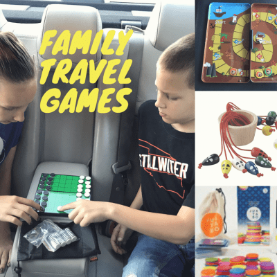 Family Games Perfect for Where Ever You Are