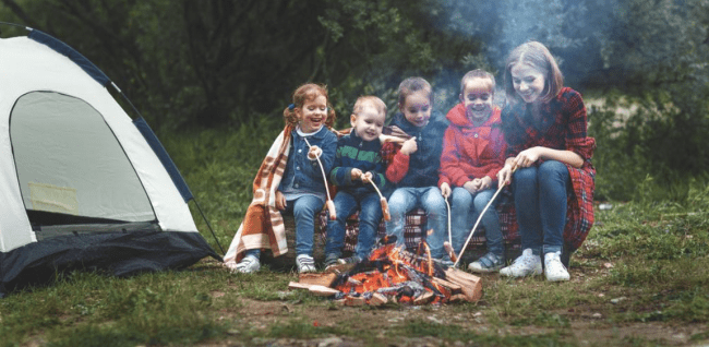 Camping with Toddlers and Kids