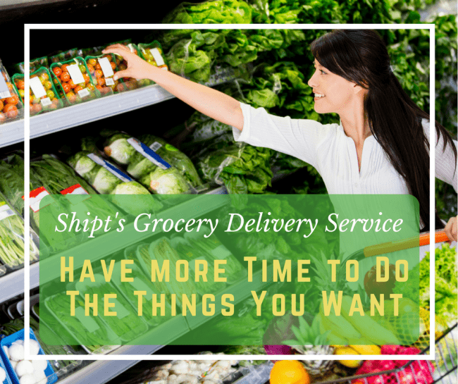 On Demand Grocery Shopping from Shipt makes buying healthy food convenient and saves you time.