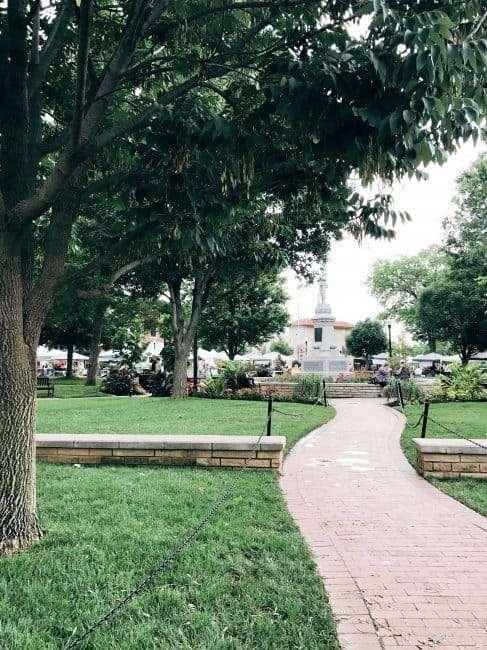 Bentonville AR Square