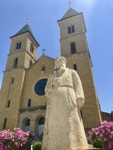I70 Road Trip - 5 Things to Do in Hays, Kansas with Kids - Find this turn of the century church in Victoria. Known as the Cathedral of the Plains