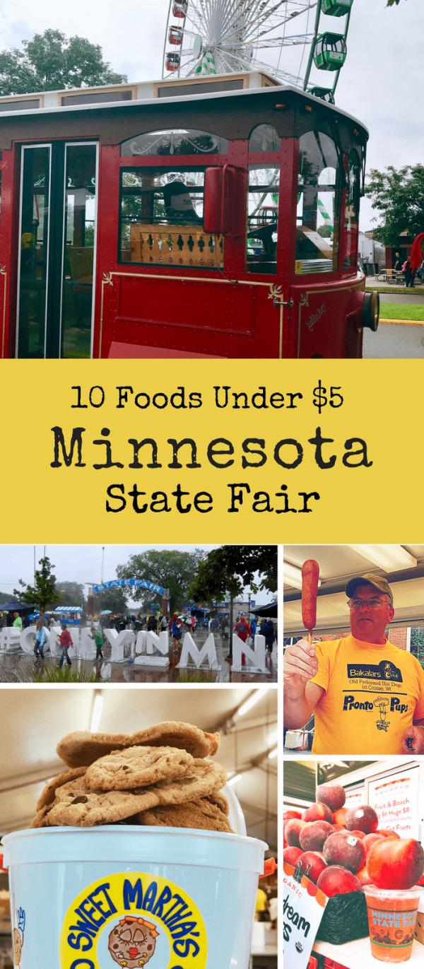 10 Healthy Minnesota State Fair Food Under $5