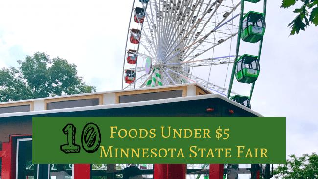 10 healthy mn State Fair food under $5.