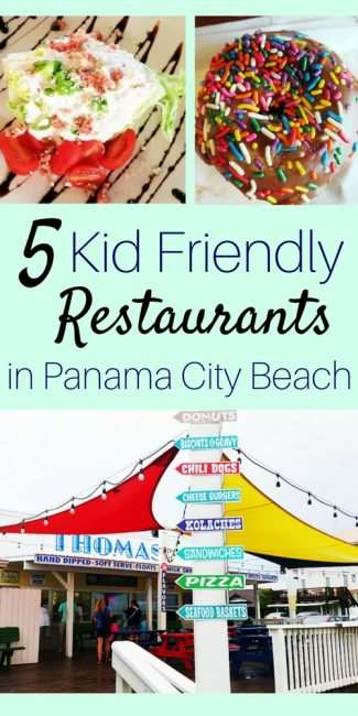 5 Kid Friendly Restaurants in Panama City Beach