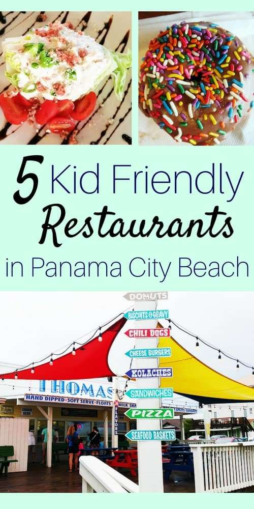 5 Kid Friendly Restaurants in Panama City Beach