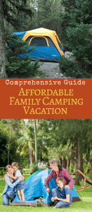 Enjoy affordable family travel and make your next family camping trip easier with this comprehension guide full of easy tent camping tips.