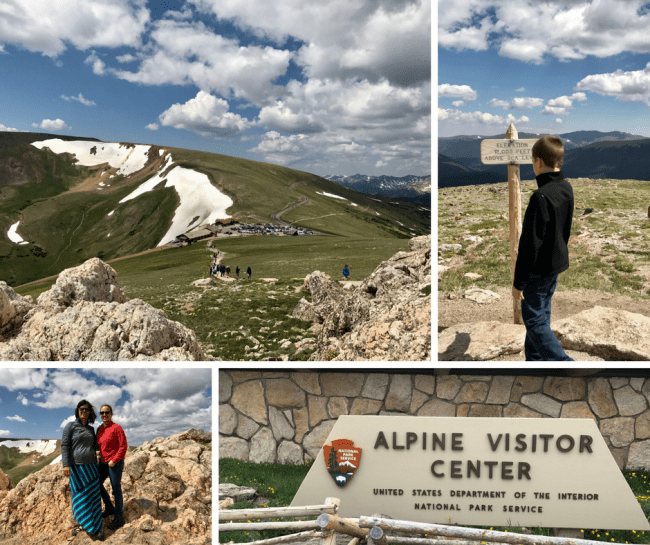Alpine Visitor Center and Huffer's Peak