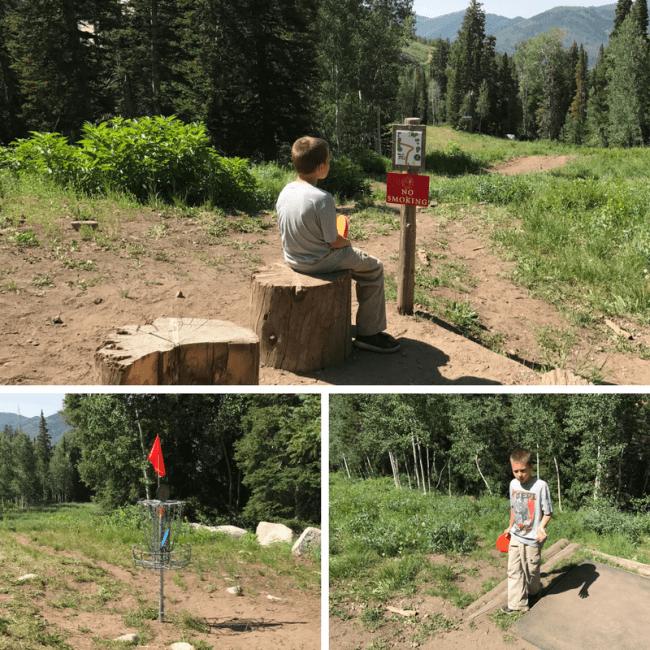 Disc Golf at Solitude Mountain Resort