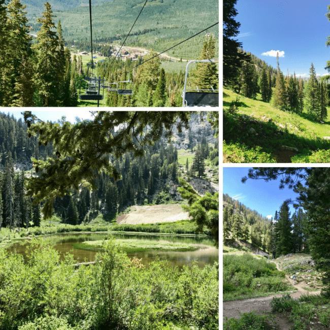 Lake Solitude Hike at Solitude Mountain Resort