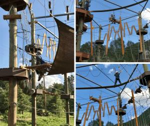 Open Air Adventure park - Exploring Estes Park, CO
