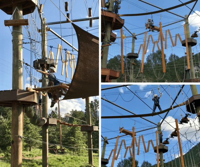 Open Air Adventure park - Exploring Estes Park, CO