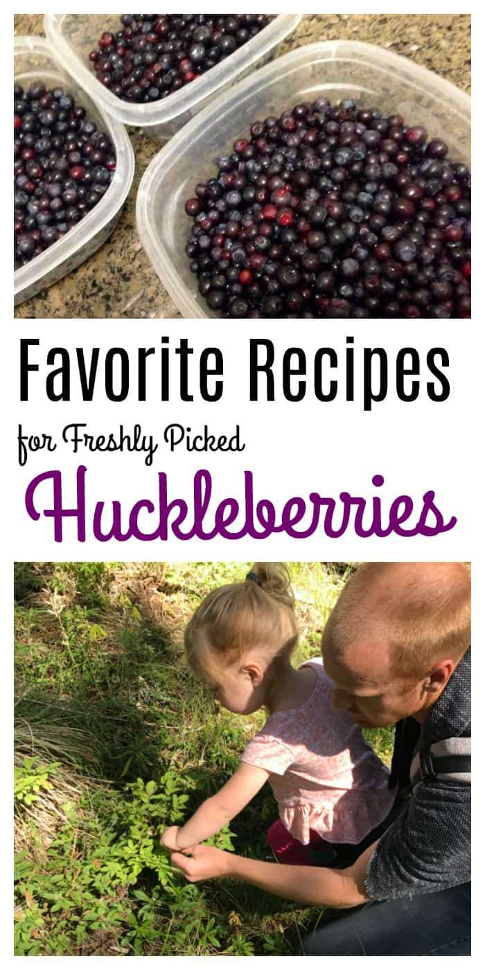 Do you Have Fresh Picked Huckleberries? Then Don't Miss these Tasty Huckleberry Recipes