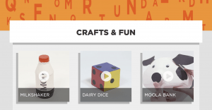 Crafts & Fun from the Dairy Discovery Zone