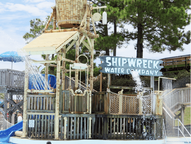 Shipwreck Island Waterpark in Panama City Beach