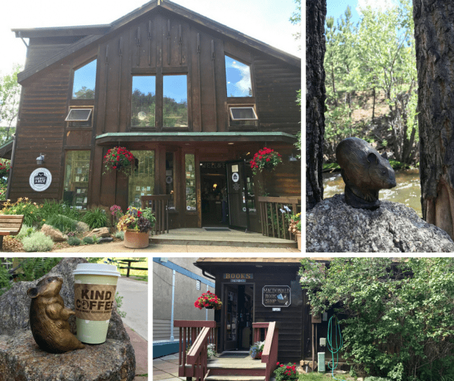 Shopping and a scavenger hunt for Pikas in the Park are a fun way to explore downtown Estes Park