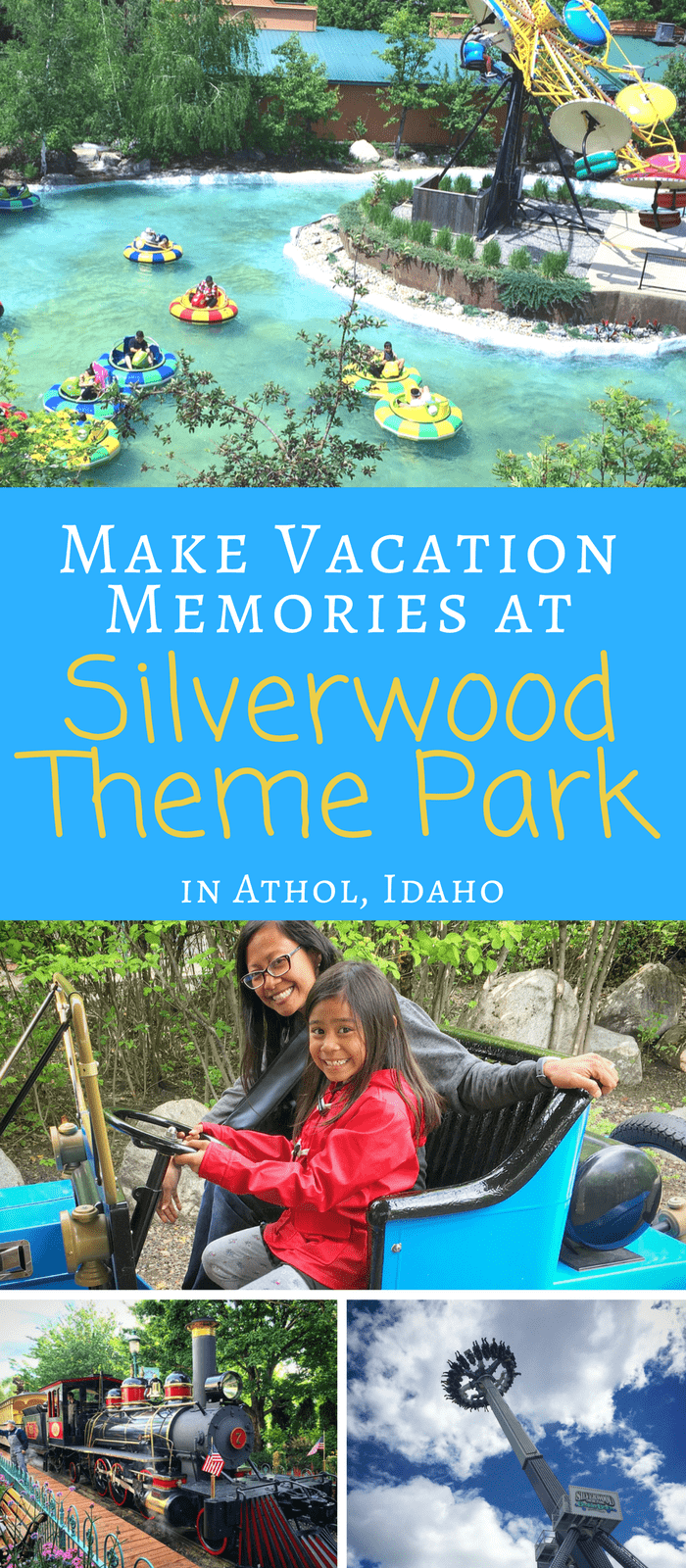 Silverwood Theme Park Collage -