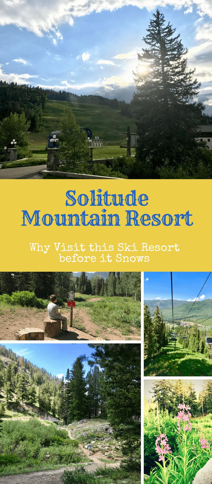 A Ski Resort as a Warm Weather Destination? - Summer at Solitude Mountain