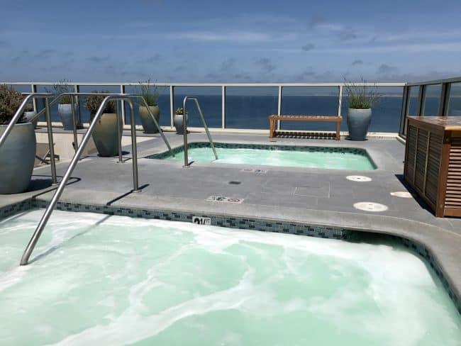 Vista Blue Spa at the Monterey Plaza Hotel