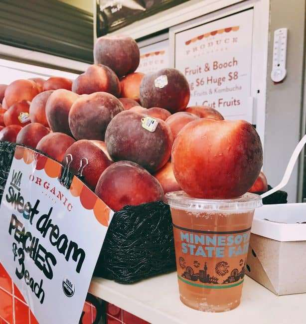 Sweet Peach, Kombucha
