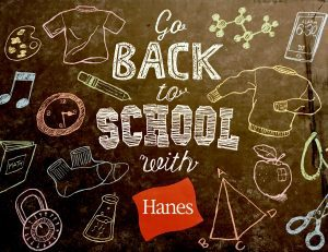 ABC's of Back to School Comfort + Hanes Giveaway