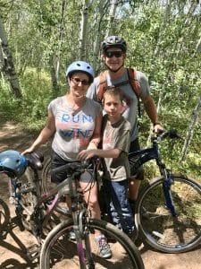 Little Family Adventure mountain biking