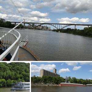 Padleford Riverboat on Mississippi River