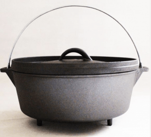 "Camp Maid 10"" Dutch Oven"