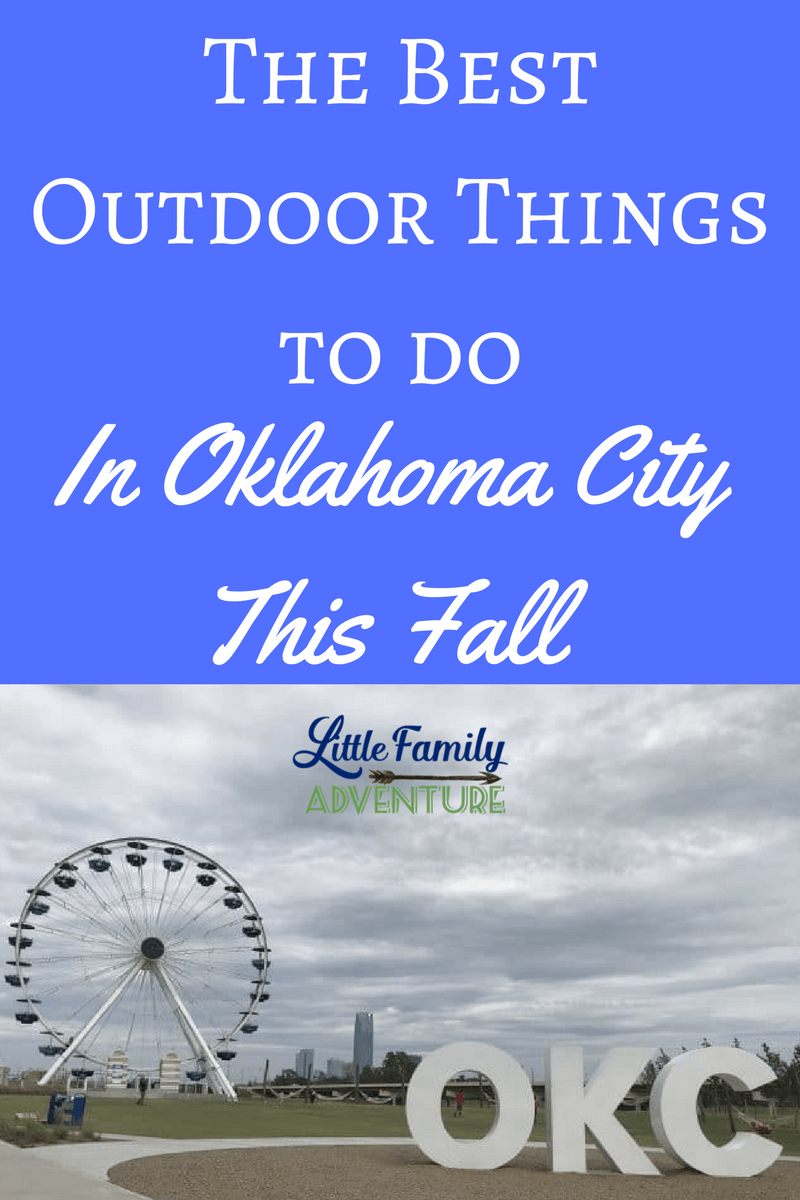 Looking for fun fall activities in OKC? We share our favorite sites and activities to get you outdoors in Oklahoma City this season.