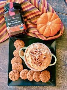 5 Ingredient Pumpkin Cheesecake Dip
