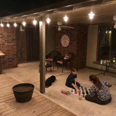Creating a Fun Outdoor Living Room for The Family