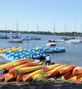 Kayaks and Peddleboats at Lake Calhoun